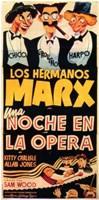 "A Night At The Opera (spanish) - 11"" x 17"""