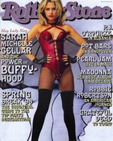 "Buffy The Vampire Slayer (TV) Rolling Stones - 11"" x 17"", FulcrumGallery.com brand"