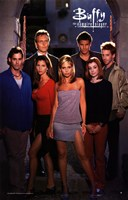 "Buffy The Vampire Slayer (TV) Cast - 11"" x 17"", FulcrumGallery.com brand"