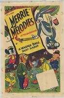 """Merrie Melodies Warner Brothers - 11"""" x 17"""""""