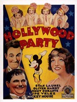 """Hollywood Party - 11"""" x 17"""""""