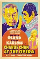 """Charlie Chan at the Opera - 11"""" x 17"""""""