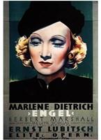 "Angel Art Deco - 11"" x 17"""