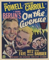"""On the Avenue Dick Powell - 11"""" x 17"""""""