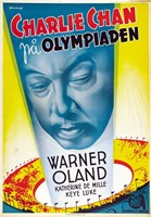 "Charlie Chan at the Olympics - 11"" x 17"""