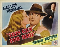 This Gun For Hire Alan Ladd Fine Art Print