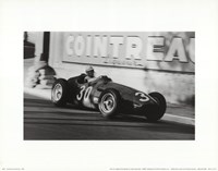 Grand Prix of Monaco, 1956 Framed Print