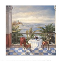 Terrace View 2 Framed Print