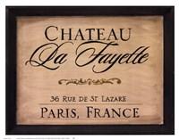Chateau La Fayette Fine Art Print