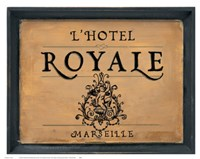 L'Hotel Royale Fine Art Print