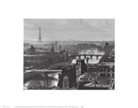 River Seine and the City of Paris Fine Art Print