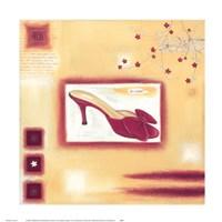 Red Evening Shoe Fine Art Print