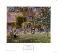 Unpretentious Garden Fine Art Print