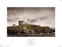 "Nubble Light by Doug Brega - 18"" x 14"""