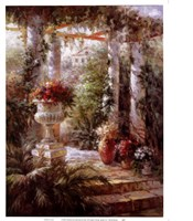 Garden Urn I Fine Art Print