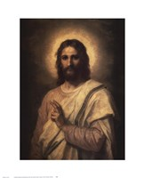 Figure of Christ Fine Art Print