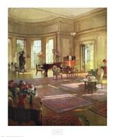 Maude Allan's Music Room Fine Art Print
