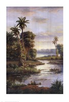 Island Serenity I Fine Art Print
