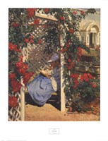 Evan Wilson - The Rose Garden Fine Art Print