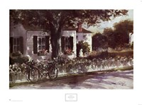 Edgartown Lane Fine Art Print