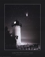 Comet Hale-Bopp Over East Chop Fine Art Print