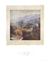 Garden Palms II Fine Art Print