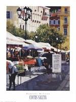 Cours Saleya Fine Art Print