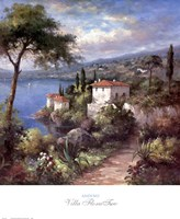 Villa Flora Two Fine Art Print