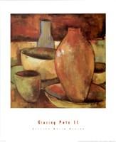 Glazing Pots II Fine Art Print