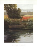 Boat at Wareham Fine Art Print
