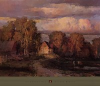"Galust Berian - Afternoon Sun by Galust Berberian - 32"" x 27"""