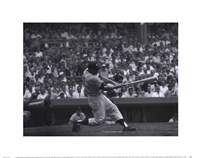 Out of the Park, 1956 Framed Print