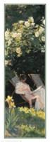 Havepartie Med Marie Kroyer Fine Art Print