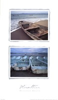 Beached Boats Fine Art Print