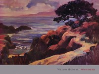 """Path by the Sea by William Hannum - 37"""" x 28"""""""