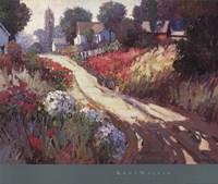"""Spring Lane by Kent Wallis - 32"""" x 27"""""""