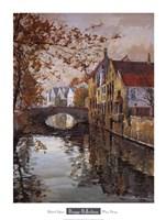 Brugge Reflections Fine Art Print