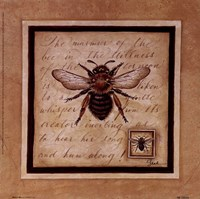 Worker Bee Fine Art Print