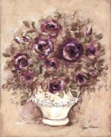 Lavender Blossoms ll Framed Print