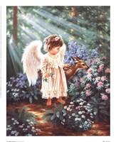 An Angels's Blessing Fine Art Print