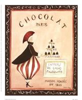 Chocolat, Paris Fine Art Print