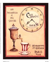 Cafe Societe Fine Art Print