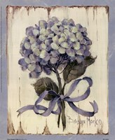 Summer Bouquet Of Blues II Fine Art Print