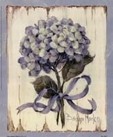 Summer Bouquet Of Blues II Framed Print