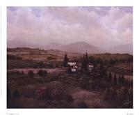 "San Gimignano by Joe Sambataro - 11"" x 9"" - $9.49"