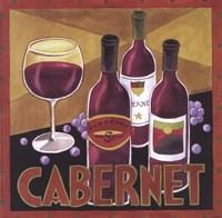 Vintage Wine I Framed Print