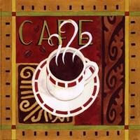 Cafe Exotica II Framed Print