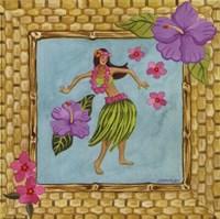 Tiki Girl III Fine Art Print