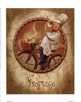 Fromage Framed Print
