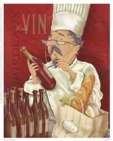 "Wine Chef I by Shari Warren - 8"" x 10"""